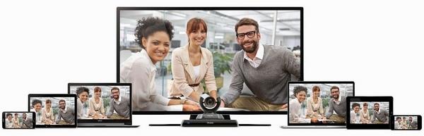 any device videoconference